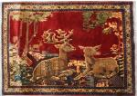 Antique persian rug SHIRAZ 97X122 cm