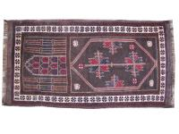 Antique Turkmen rug, Balutch 73X138 cm