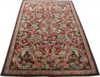 French antique carpet Aubusson 202X310 cm