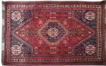 Antique persian rug SHIRAZ 102X142 cm