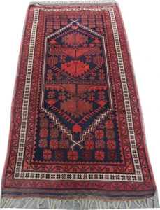 Antique turkish rug 80X155 cm