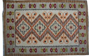 Scandinave antique Kilim 142X196 cm