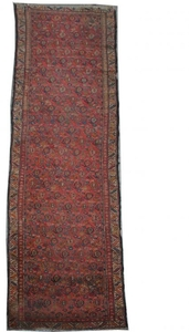Antique persian rug MALAYER 93X376 cm