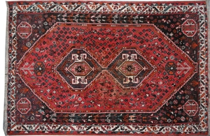 Antique persian rug SHIRAZ 164X210 cm