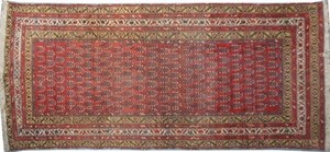 Antique persian rug MALAYER 110X126 cm