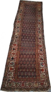 Antique persian rug MALAYER 103X388 cm