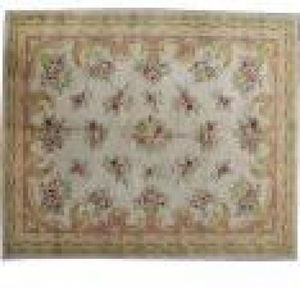 French antique carpet AUBUSSON 150X204 cm