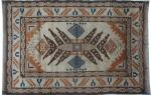 Antique turkish rug KARS 110X150 cm