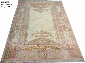 Antique European rug spanish 192X285 cm