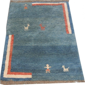 Antique persian rug GABBEH 125X168 cm