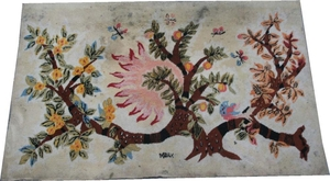modern tapestry Aubusson style turfted 114X181 cm