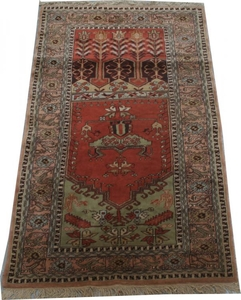 Antique turkish rug 104X177 cm
