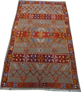 Antique Moroccan Berber carpets 144X252 cm