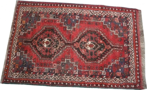 Antique persian rug SHIRAZ 84X128 cm