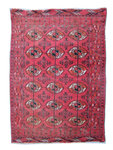 Antique Turkmen rug